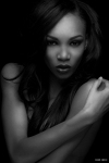Model: Symon Goodloe Make-up: Rebekah Aladdin Hair: Jazmayne Chatman of Glamsquad LA