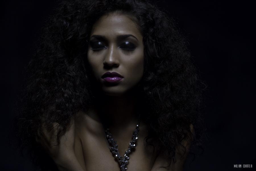 Model: Dior Krystal Make-up: Kari Lu Hair: Arcora Solomon